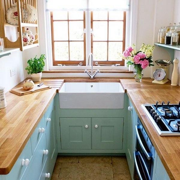 Cocinas pequeñas, ideas gigantes…