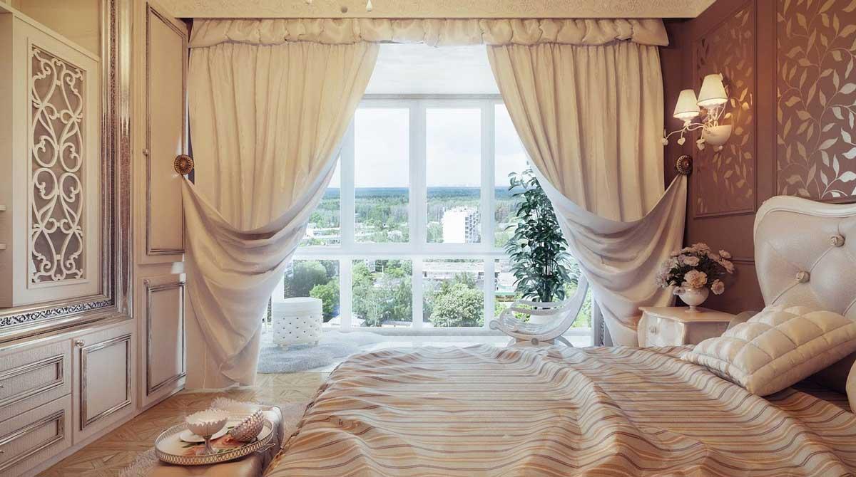 cortinas elegantes en casa