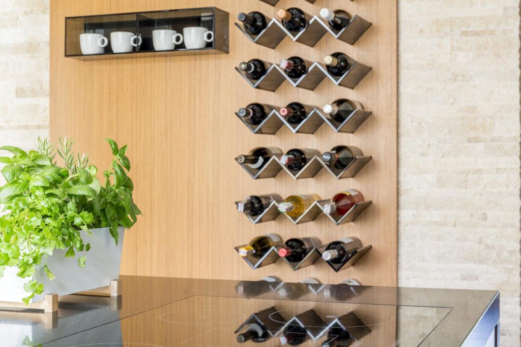 Botellero de vinos